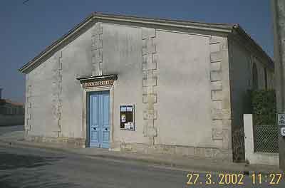 maison d'oraison et temple de Maine-Geoffroy à Royan