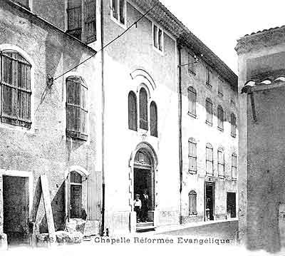 chapelle         méthodiste de Lasalle