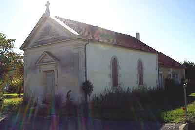 l'ancien temple de Morisset à Saint Dizant du Gua